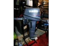 Yamaha 6hp 2 stroke outboard