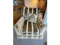 Duresta armchair with extra cushions excellent condition