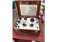 Portable potentiometer vintage retro