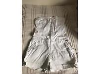 Firetrap white jumpsuit - size L