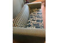 Small green sofa