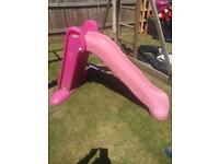 Little tikes easy store slide pink