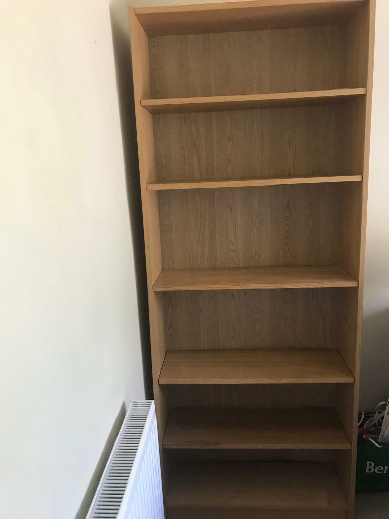 Ikea Billy Bookcase Oak Veneer In Thames Ditton Surrey Gumtree