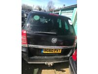 Vauxhall Zafira 2010 1.7 Diesel Manual Breaking For Spares Z17DT