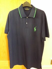 Men's Ralph Lauren Polo Shirt Golf Pro Fit L