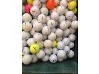 500 x golf balls - titleist / callaway / Nike etc