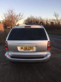 2008 Chrysler Grand Voyager 2.8 CRD Executive 5dr SIlver Good condition new auto and timing chain
