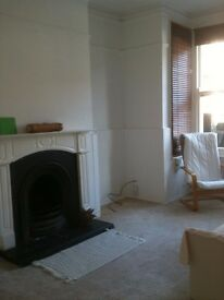 1/2 bed garden flat for short let at end of March
