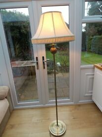 BRASS STANDARD LAMP FOR SALE