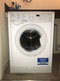 **5 Months Old** Indesit IWDD7123 Washer Dryer 1200 Spin, 7kg Wash, 5kg Dry - White