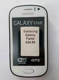 All Colours Available Samsung Galaxy Fame Unlocked Fully Boxed Up With All Accessories