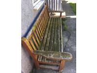LISTER garden bench, can deliver