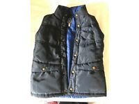 Boys Joules padded gilets - age 7