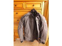 BMW Motorrad Boulder summer 58 touring grey jacket ventilation body armour waterproof drop liner