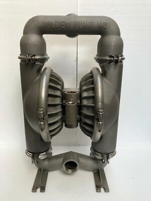 Wilden Pump 8 Stainless Steel Double Diaphragmtransfer Pump Rubber Diaphragm 1