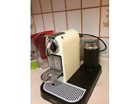 Nespresso coffee maker with Milk foamer
