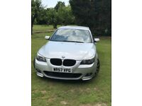 Silver BMW 525D Msport (LCI face lift )