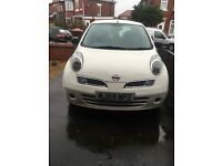 Nissan Micra 1.2L 16v, 2009, two lady owners, MOT till September, very good condition.