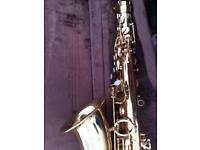 ALTO SAXOPHONE with Top F Sharp