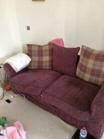 Red Sofa in Good Condition