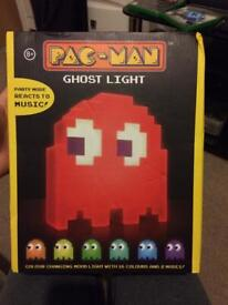 Pac man ghost light brand new and boxed never opened!