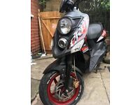 SYM CROX 125CC - MOT/TAXED- 4850+MILES- 2015 - SCOOTER - OR NEAR OFFER! MUST GO!
