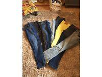 Mixed Bag Ladies Zara Jeans Size 10