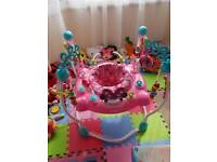 Minnie mouse baby girl jumperoo for sale