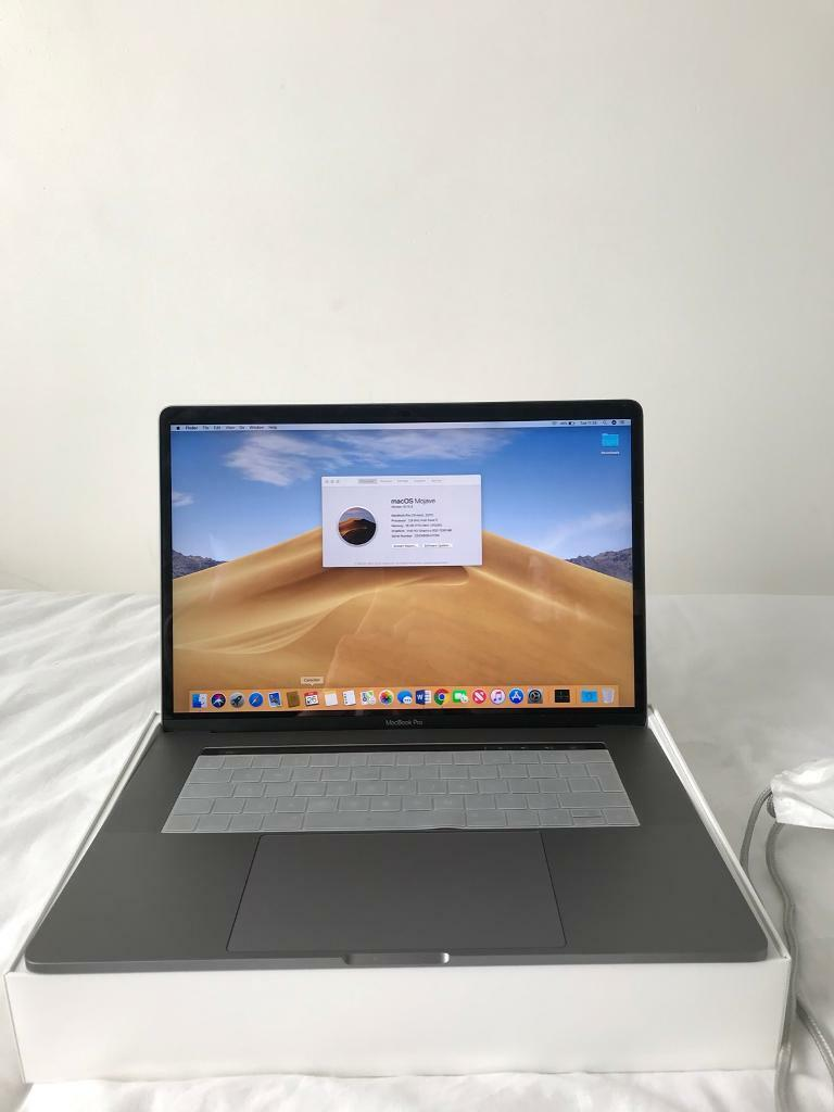 MacBook Pro 2018 touch bar space grey 15inch 512GB core i7 2 9GHz 16GB RAM  with accessories   in Thornton, West Yorkshire   Gumtree