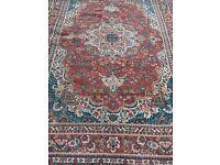 Large Carpet Persian design 325 cm x 238 cm used