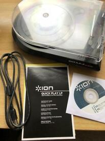 Ion usb turntable record player vinyl