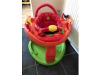 Baby gym seat