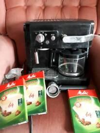 Delonghi coffeemaker and espresso machine