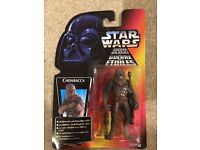star wars POTF Chewbacca Red Card 1995 kenner