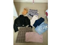WOMENS BOOTS AND CLOTHES BUNDLE