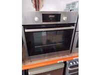 WHIRLPOOL built in electric oven and grill , Silver