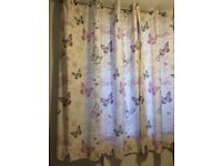 1 x Pair of Bedroom Curtains