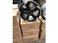 "4 18"" alloy wheels alloys rims tyre tyres vw Volkswagen seat Skoda audi 112"