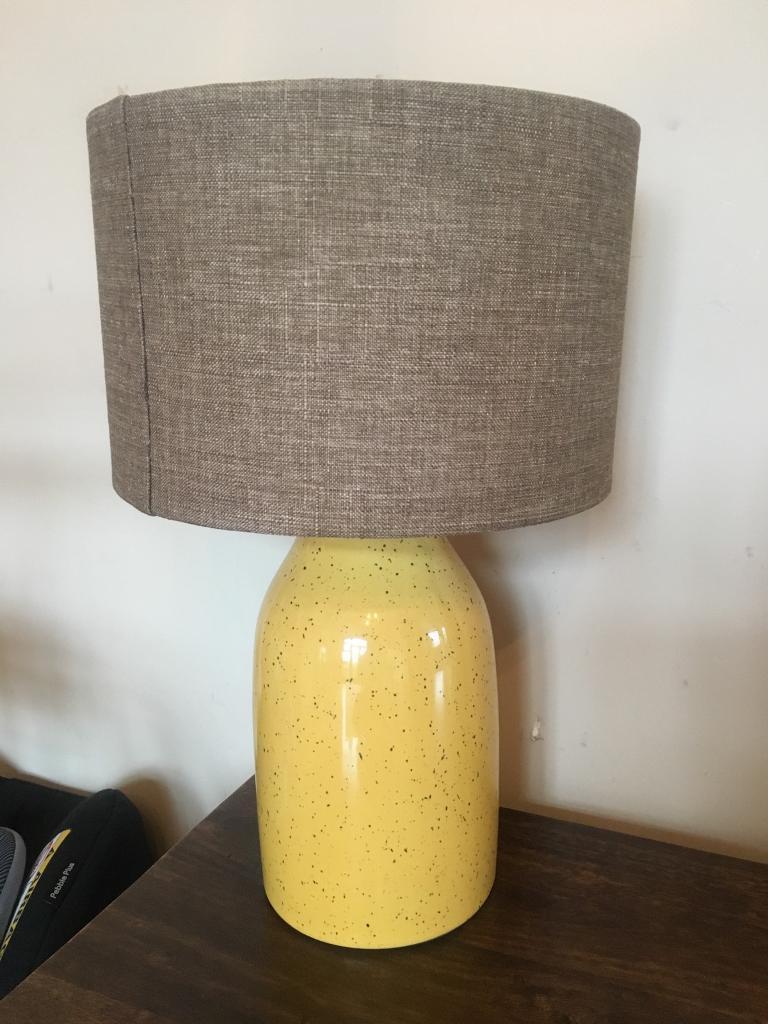 Next table lamp and shade