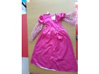 Mint condition 9-10 years old princess dress for kids