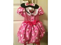 Girls Minnie Mouse costume size 3