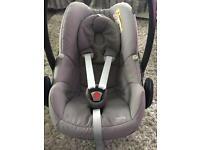 Maxi cosi pebble baby car seat group 0