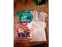 Baby boy 6-9months T-shirt bundle