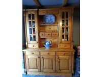 Beautiful solid pine dresser