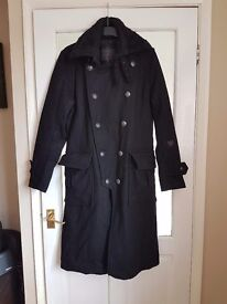 Fire trap coat