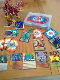 Bakugan set 18 piece with Dragonoid Collossus
