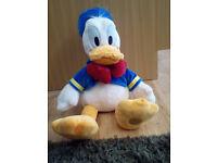 Donald duck plush soft toy disney store original product 45 cm