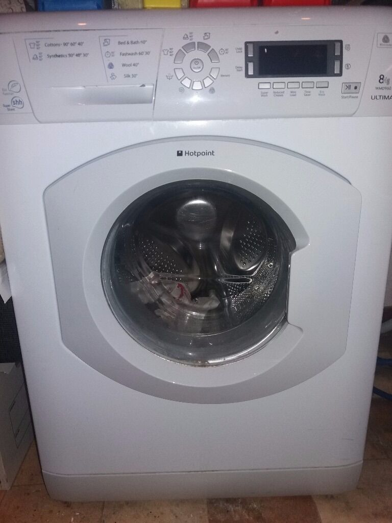 HOTPOINT 8KG WASHING MACHINE ULTIMA