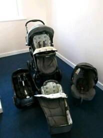 Graco travel.system like new