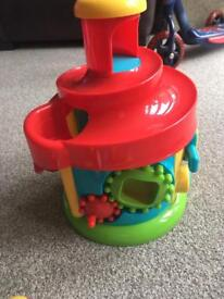 Shape shorter and activity toy